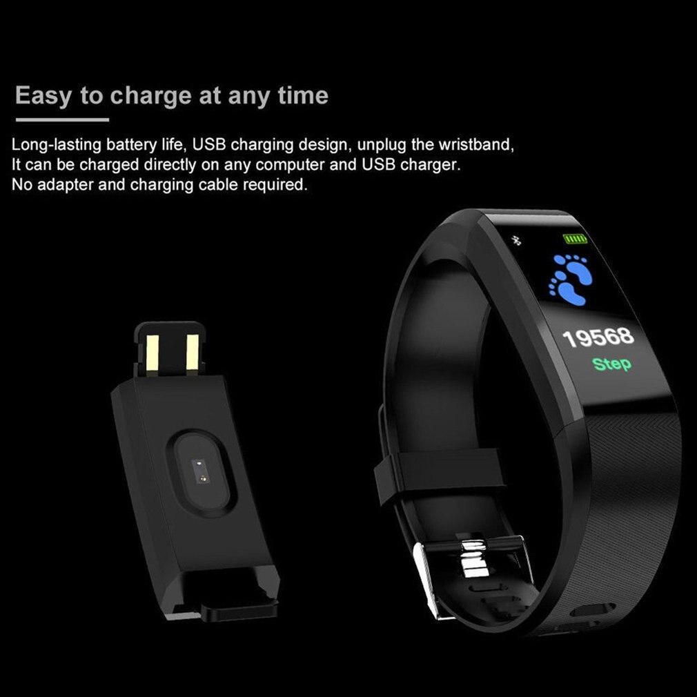 Smart Monitor Blood Pressure Fitness Tracker 3