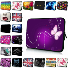 Viviration Notebook Bag 17 Inch Fashion Computer Bag 10 12 14 15 13 7 7.7 Sleeve Laptop Bag Girls Butterfly Bag For Asus HP Dell(China)