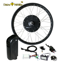 "48V 1000W Ebike Brushless Hub Motor with 48V 10ah Lithium Battery ebicycle 26"" 700C Fat Tire Electric Bike E-bike Conversion Kit(China)"