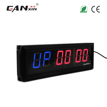 "[Ganxin]1.8"" Hot Selling Remote Control Aluminium Alloy Customized Design Led Exercise Crossfit Timer"