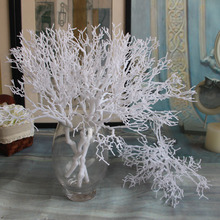 Coral Branch Flower Artificial Plants Wedding Decor Home Christmas Decoration DIY Accessories(China)
