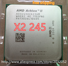 AMD Athlon II X2 245 x2 245  processor (2.9GHz/2MB L2 Cache /Socket AM3) Dual-Core free shipping