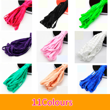1cm 11 Colours Double Elastic Lace Teeth Side Of The Edge Of The Elastic Band Underwear Collar Edge Sleeve Side(China)