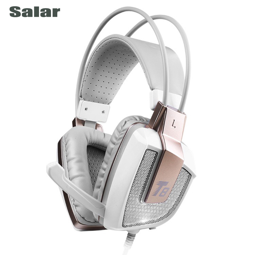 Salar T8 Professional Studio Monitor Headphones Stereo Gaming Headset For Computer PC 3.5mm Wired Foldable Hifi DJ HD Earphones<br>