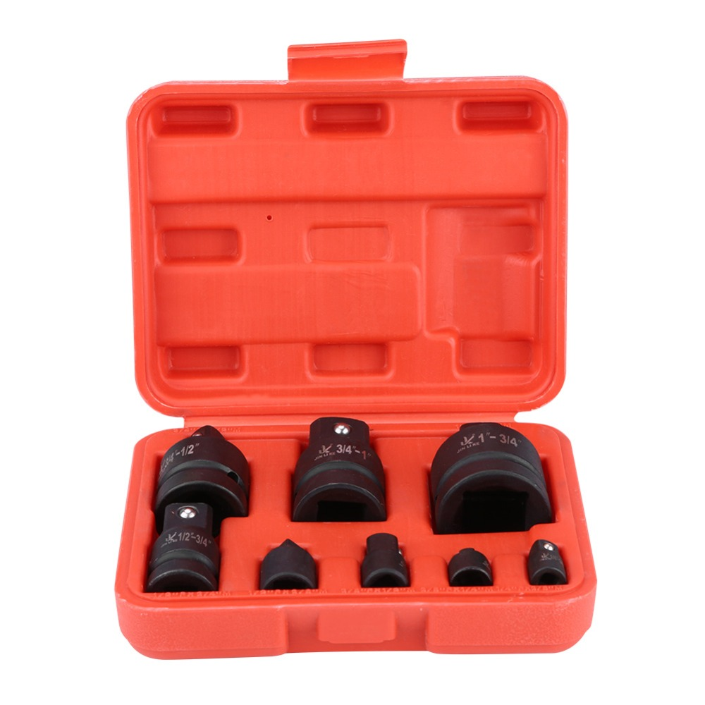TEMO Impact Socket Adapter and Reducer Set 4-Piece Cr-V