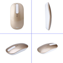 2.4G Wireless Mouse Touchable Button 1600 DPI Ergonomics Free Drive Gaming Mouse with 10 Meters Control Range(China)