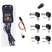 100-240V TO 3V,4.5V,5V,6V,7.5V,9V,12V 30W Universal Adjustable AC/DC Charger Adapter Switching Power Supply +5V 2.1A USB Port