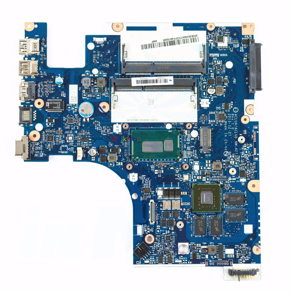 SHELI FOR Lenovo Z50-70 Laptop Motherboard W/ I5-4200U CPU FRU 5B20G45477 ACLUA/ACLUB NM-A273 W/ 820M GPU DDR3L Test Oke