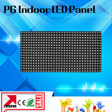TEEHO LED P6 led display module 32*16pixel 192*96mm led panel display module full color led screen indoor led advertising board