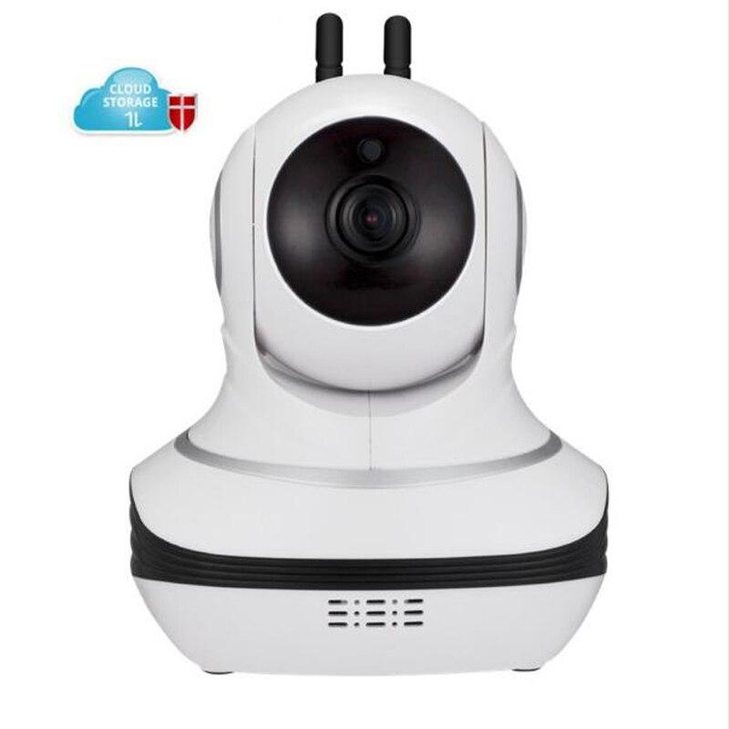 1080P Wifi Cloud IP Camera Security Night Vision IR Two Way Audio Smart CCTV Surveillance Wireless IP Camera<br>