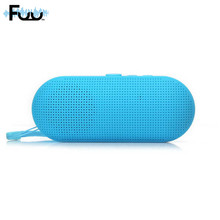 FUU High Quality Bluetooth Speaker Capsule Shape Mini Stereo Outdoor Sound Card Subwoofer Radio S028 Wholesale
