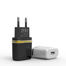 Real 5V 2A EU Plug USB Travel AC Wall Charger Adapter for iPad iPhone SE 5 5S 6 6S 7 Plus Samsung Galaxy HTC LG Tablet PC