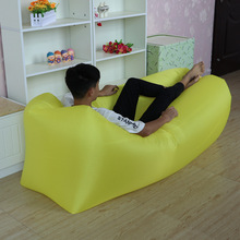 Air Hangout Lazybag inflatable air sofa 210D Oxford Terylene laybag sleeping bag adult beds air lounge chair Fast Inflatable