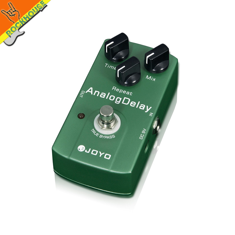 JOYO Analog Delay Guitar Effects Pedal Guitar Echo Delay Time Mix Repeat Adjustable Warm and Nature Tone True Bypass<br>