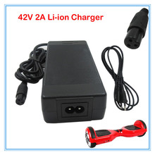 42V 2A Battery Charger 100-240VAC Power Supply for swing car E-scooter Self-Balance car 36V 10S Lithium Ebike charger