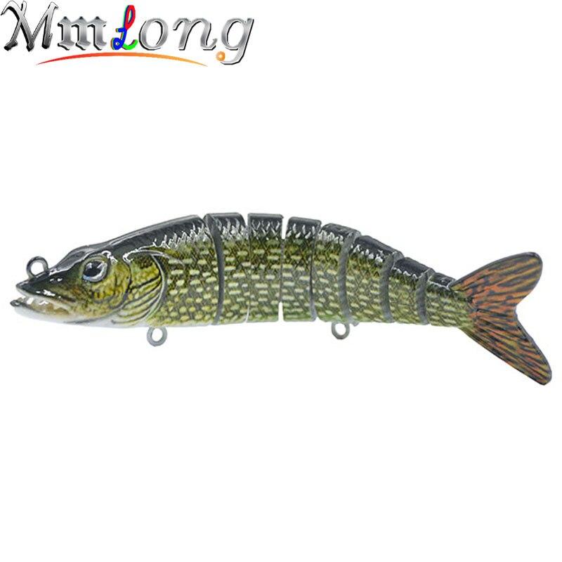 Mmlong 2016 New 4.3 Artificial Fishing Baits Lifelike Vivid Performance Jerkbait Fishing Crankbait 8 Segment Hard Lures MML15D<br><br>Aliexpress