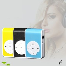 5 Colors Portable Mini MP3 Player Support Micro TF/SD Card Sport Mp3 Music Players Extroverted Mp3 Speaker