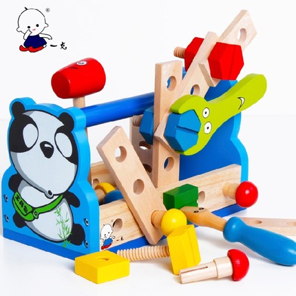 Educational decryption early education interactive toys mobile building blocks DIY Toolbox blocks<br><br>Aliexpress