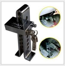 New Stainless steel anti-theft key car lock for automobile  clutch brake throttle lock