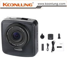 Ambarella Chipset+BuiltinGPS+SpeedCam Car DVR C81 Single Lens Camcorder with Special Design like Leather Cover & Mini Size Style