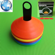 50P/LOT Disc Cones Soccer Football Training obstacles equipment Saucer Marking Coaching Training Cone Mark Sports Training mar