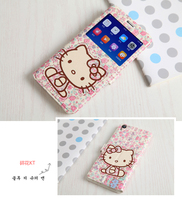 Luxury Window view case for OPPO R9/OPPO F1 Plus R9m R9tm Flip Leather Cover For OPPO R9m hello kitty Totoro Mobile Phone skin