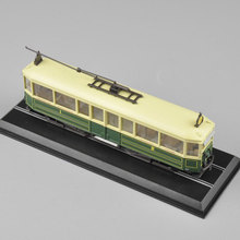New Hottest 1:87 Scale  Motrice L (STCRP )1923 Tram Tramways Train Model juguetes Collectible For Kids Toys Gifts C