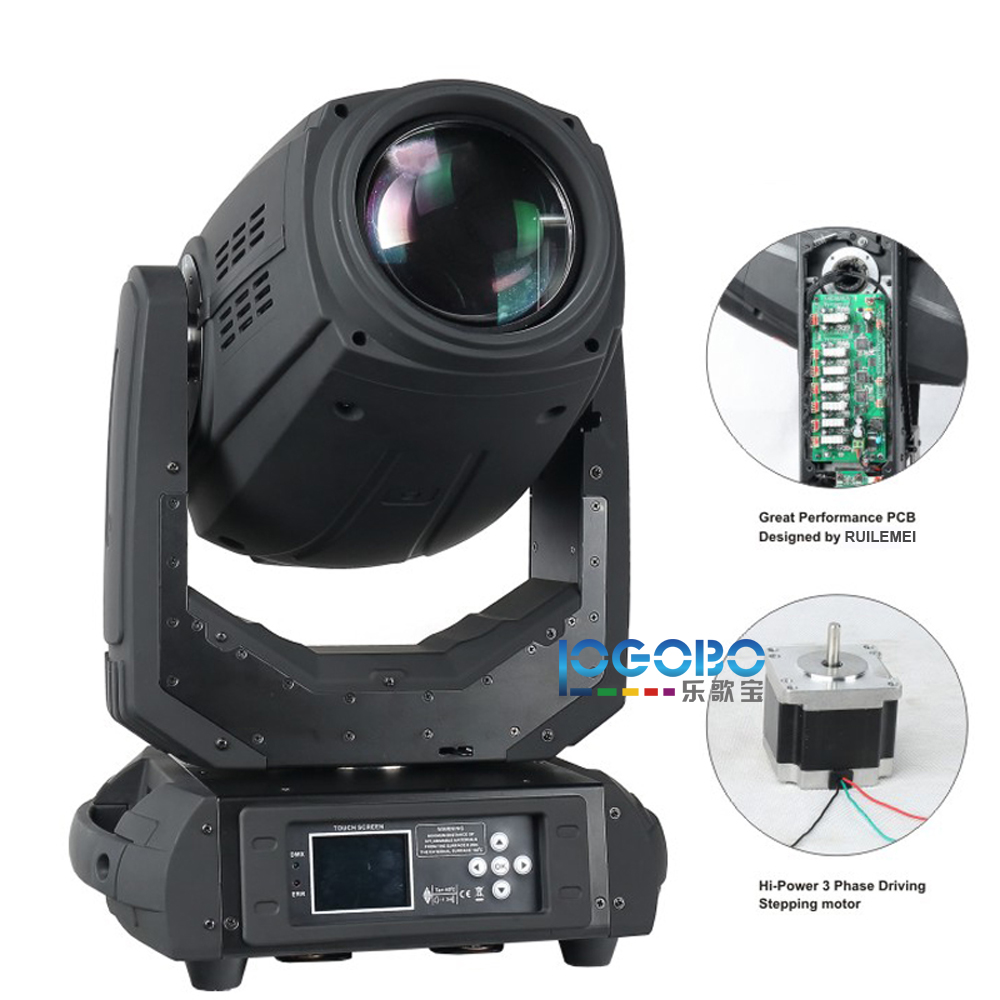 New RH-8280 10r 280w beam+wash+gobo 3in1 Moving Head Spot Beam -2