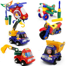 New  Removable toy boy truck nut assembling toys motorcycle puzzle Model Building Kits toy kids gift