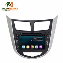 "2 Din  7"" HD1080  Android 6.0 CAR Radio DVD player For Solaris Verna Accent Car Quad Core  R16   BT/WiFi/4G/FM/RDS/SWC"