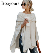 Buy Boayours Fashion New Cashmere Shoulder Tops Women T shirt Autumn Loose Irregular Hem Crop Top Sexy T-shirt Tee Shirt for $13.84 in AliExpress store