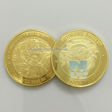NEW gold coin Hunger Games Katniss Mockingjay) America challenge coin