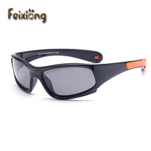FEIXIONG Sport Infant Baby Kids Polarized Sunglasses Children Safety Coating Glasses Sun UV400 Fashion Goggles Shades oculos