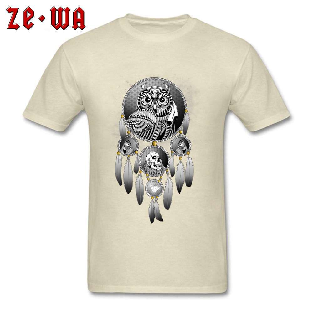 Coupons Bring the Nightmare cosie T-shirts Crew Neck Cotton Mens Tops T Shirt Short Sleeve Summer cosie T-shirts Bring the Nightmare beige