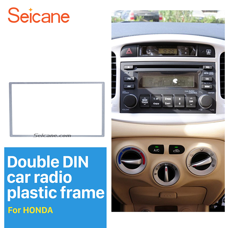 Double DIN Car Facia for Ford Car Audio Stereo Radio Trim with Cage