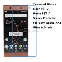 Tempered Glass / Clear PET / Matte PET -- Screen Protector Protective Film For Sony Xperia XA1 Ultra / Dual 6.0 Inch