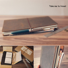 100% Genuine Leather Notebook Vintage Diary Book Travel Journal Christmas Birthday Gift for Men Women