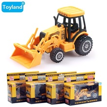 Best!! alloy wheel excavator/machineshop car/Cars Truck Toy Kids Toys Baby For Children Small Pull Back Truck Toys for Boys Gift