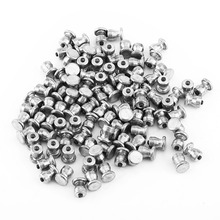100 Pcs 8*10mm Tire Screw Hard Alloy Snow Nail Anti-Slip Screws Tire Stud Screw For Automobile Tire Car Styling AutoAccessories(China)