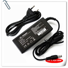 Battery Charger FOR Lenovo IBM IdeaPad u110 u350 y330 y430 y510 y510a E42G E42L E43L 65W + Cord carregador notebook cargador