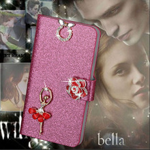 Buy Luxury PU Leather Wallet Case HTC One A9 Aero A9 A9W Flip Cover Shining Crystal Bling Case Card Slot & Bling Diamond for $2.44 in AliExpress store
