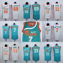 Flint Tropics Jersey 7 Coffee Black 33 Jackie Moon 11 ED Monix 69 Downtown  Movie Basketball Jersey Stitched Men Throwback Jersey 33a2de843