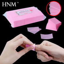 HNM 900pcs/lot Cotton Wipes for Gel Nail Polish Soak Off Remover Lint Cotton Paper Pad for Nail Polish Acetone Remover(China)