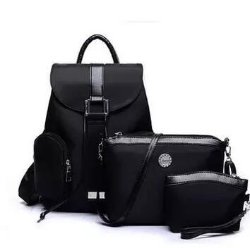 HOT 3pcs/set Oxford Backpack women-bag shoulder bag Vintage small  female composite bag Best Gift Free Shipping <br><br>Aliexpress