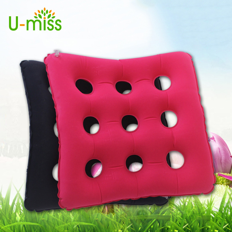 U-miss Health Care Medical Device Premium Air Inflatable Waffle Seat Cushion Heat Sealed Construction for Chair Fit for Patient(China)