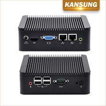 KANSUNG-K210S Core i3 3217U Ivy Bridge CPU Computador Dual NICs HD VGA COM Dual Display Industrial Mini PC Computer Linux Win 7(China)