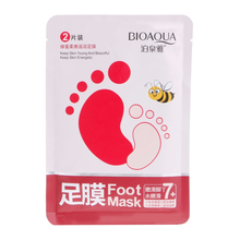 Honey Essence Foot Mask Exfoliating Scrub Dead Skin Cleansing Pedicure Feet Care(China)