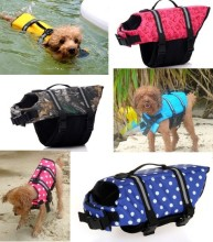 XS~XL Dog Saver Life Jacket Swimming Vest Reflective Pet Preserver Aquatic Safety