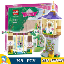 145pcs Bela 10564 Girls Princess Friends Rapunzel's Best Day Ever Bakery DIY 3D Blocks Toy Gift Compatible With lego