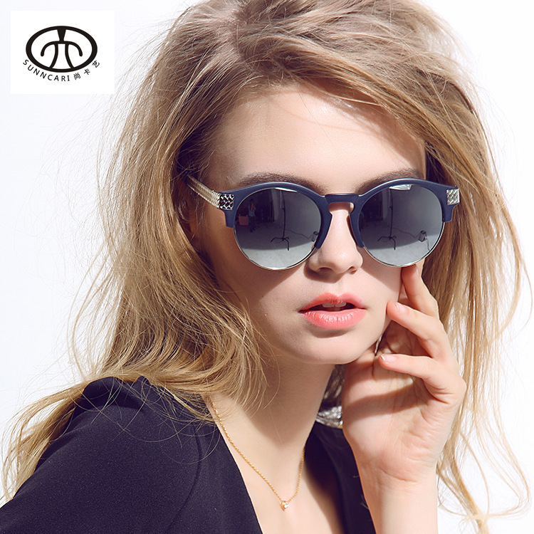Ms. UV sunglasses fashion sunglasses for men and women of color glasses sunshades star models female 012<br><br>Aliexpress